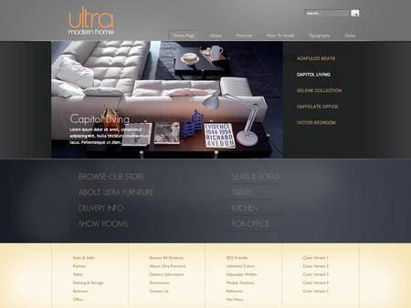 外贸网站建设欣赏-网店设计