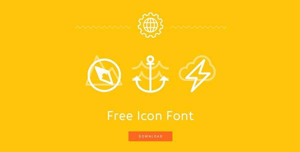 08 impressive promotional websites freeiconfont 20 Impressive Promotional Website Designs