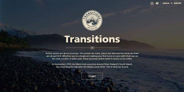 09 impressive promotional websites transitions1020 20 Impressive Promotional Website Designs
