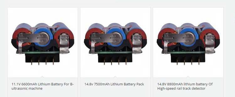 电池产品网站设计多参数筛选功能说明