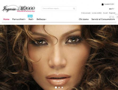 意大利美发产品在线购物响应式网站设计