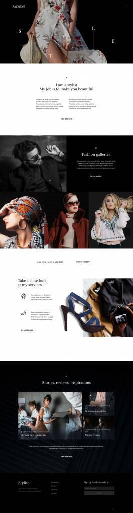 服饰创意网页设计